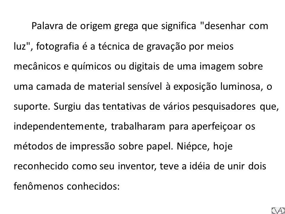 Depois das invenções de Niépce e Daguerre, o avanço da tecnologia foi muito rápido e mudou profundamente a maneira de se fazer fotografia.