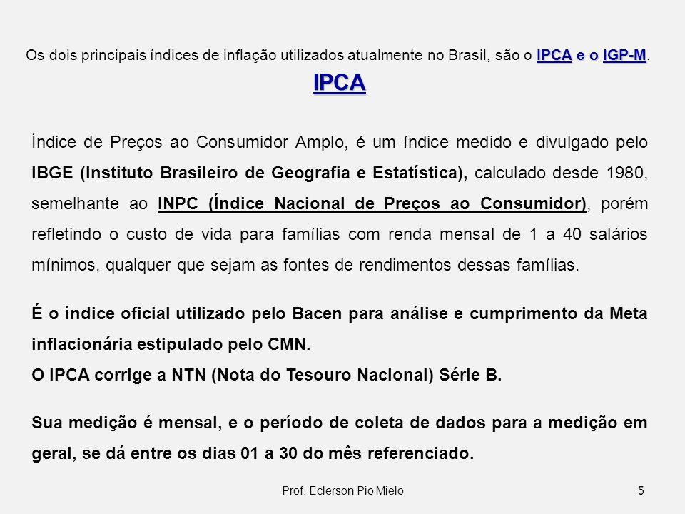 IPCA Índice de Preços ao Consumidor Amplo, é um índice medido e divulgado pelo IBGE (Instituto Brasileiro de Geografia e Estatística), calculado desde