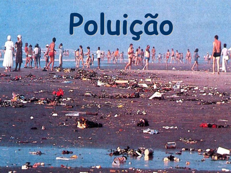 O que é a POLUIÇÃO.Poluição significa sujidade, degradação, contaminação, doença.