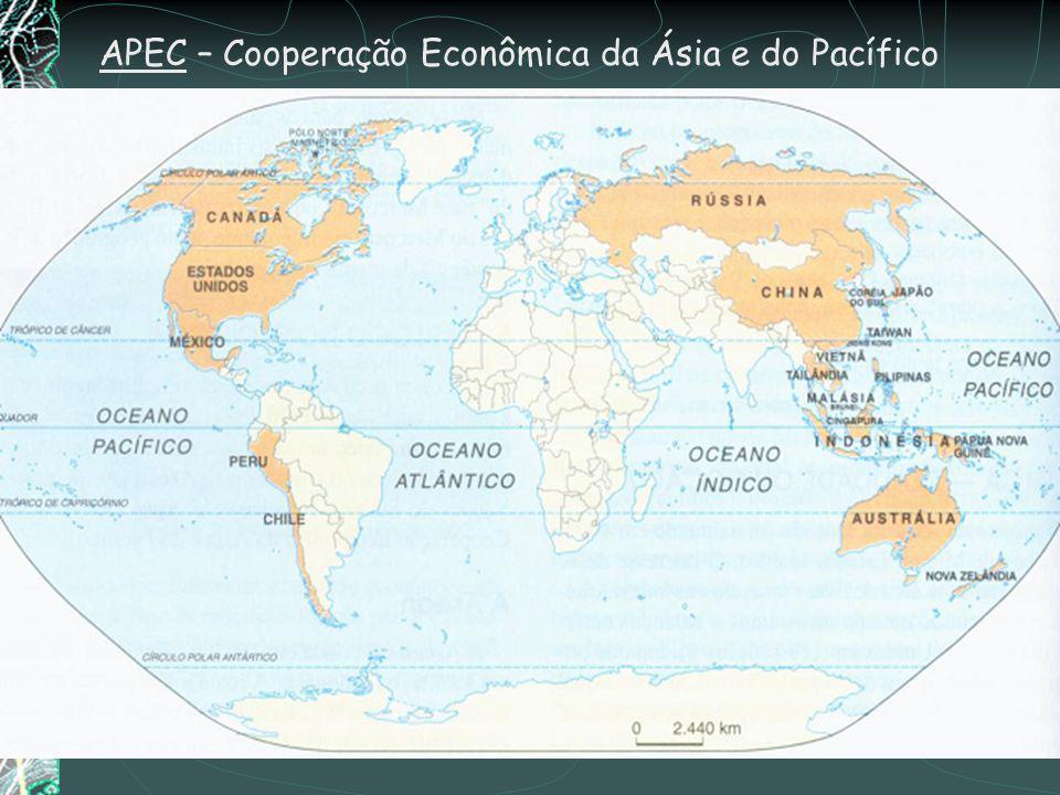 MERCOSUL – Mercado Comum do Sul O Mercado Comum do Sul foi instituído em 1991 com assinatura do Tratado de Assunção, no Paraguai. Inicia-se como uma z