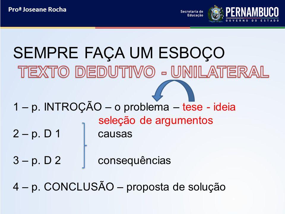 Proª Joseane Rocha