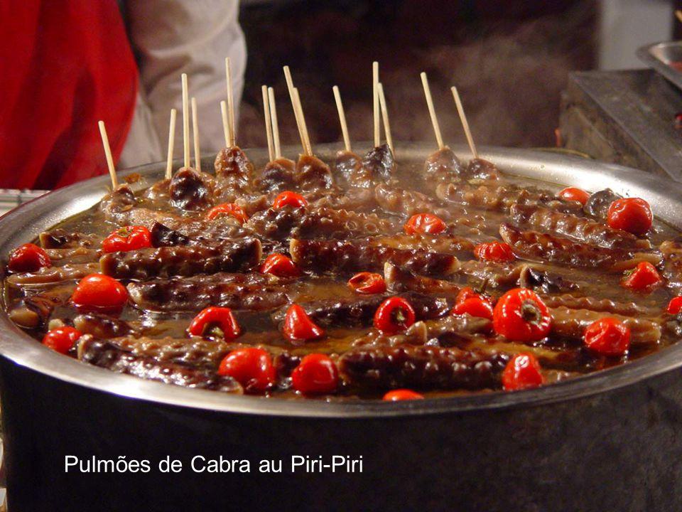 Pulmões de Cabra au Piri-Piri