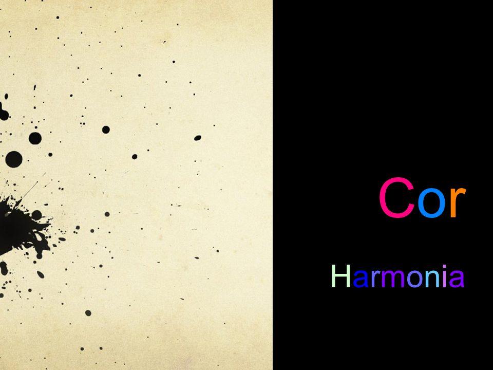 Harmonias de cores Para se conseguir um efeito visual agradável, devem-se combinar as cores de uma forma harmoniosa.