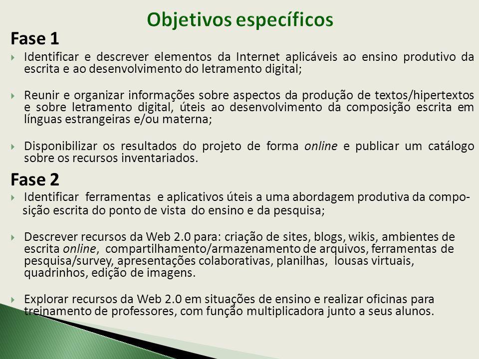 LOUSA DIGITAL Imagination Cubed (GE) - http://imagination3.com/http://imagination3.com/ APRESENTAÇÕES COLABORATIVAS Zoho Show - http://show.zoho.comhttp://show.zoho.com EM DESCRIÇÃO: Ferramenta de Pesquisa - Survey Monkey - www.surveymonkey.com)www.surveymonkey.com Criação de quadrinhos - Strip Generator - http://stripgenerator.comhttp://stripgenerator.com Edição de imagens - Picnik - http://www.picnik.comhttp://www.picnik.com