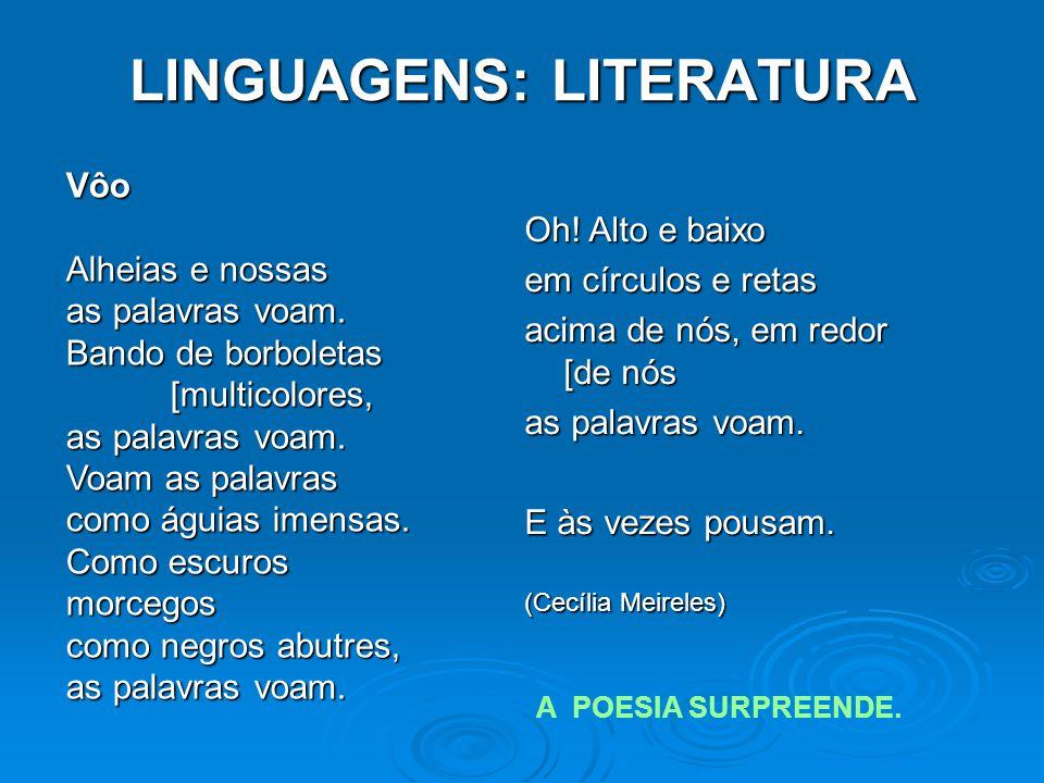 LINGUAGENS: LITERATURA Oh.