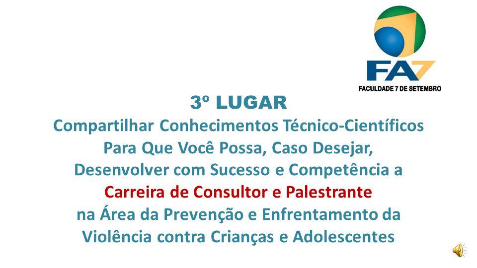 Nessa Especialização Você irá Estudar: Prevenção e Erradicação do Trabalho Infantil Prof.