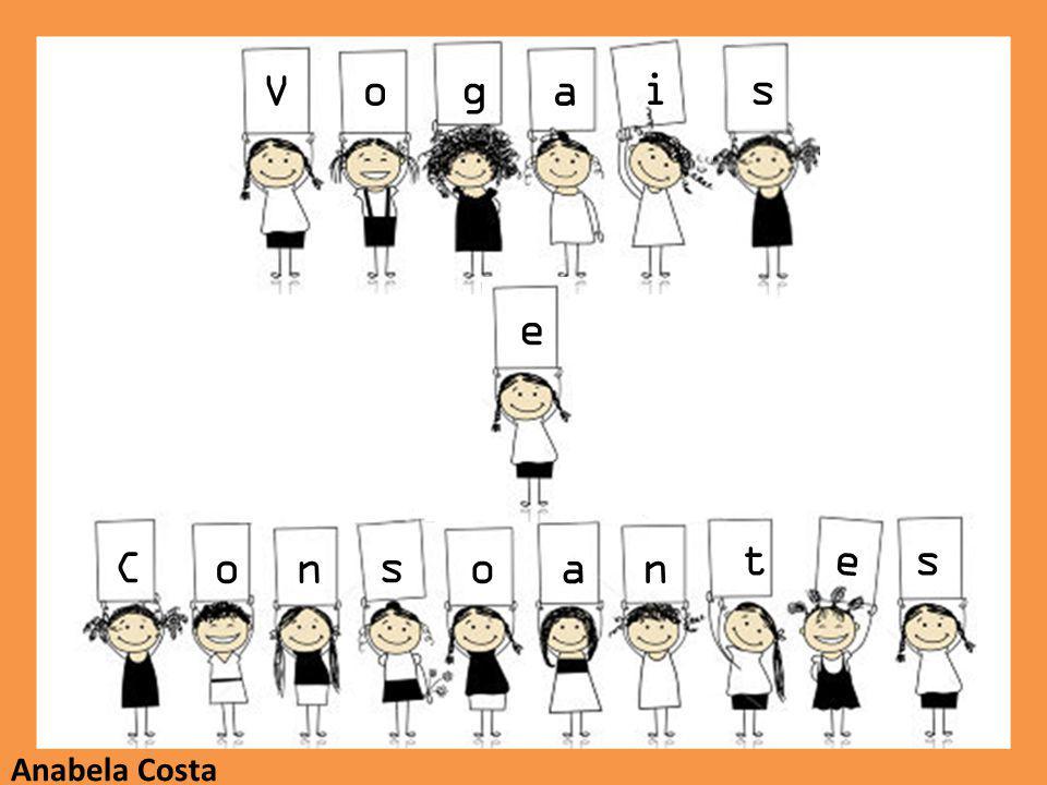 Descobre quais são as vogais e consoantes que formam as palavras e clica na resposta que consideras correta.