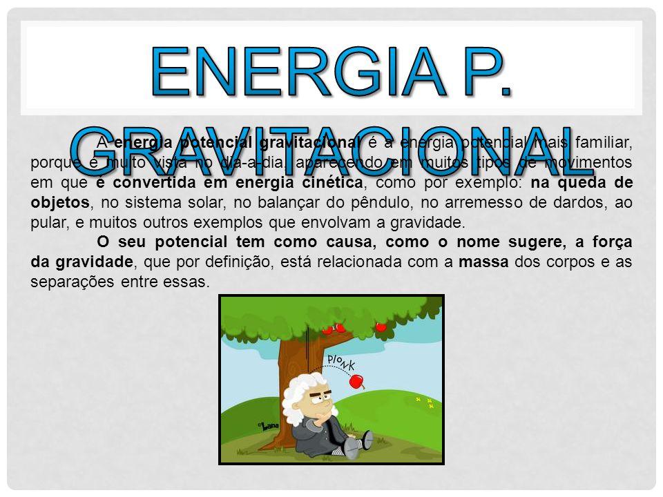 Energia química é a energia potencial das ligações químicas entre os átomos.