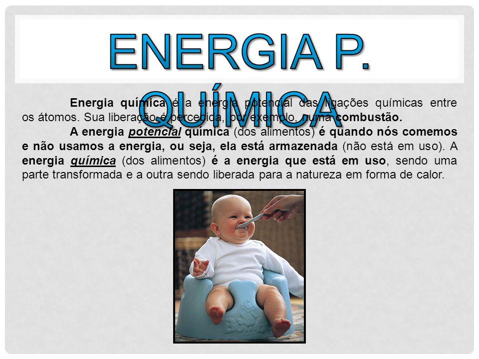 A energia potencial elástica, assim como a energia potencial gravitacional, está relacionada à posição que o corpo ocupa.