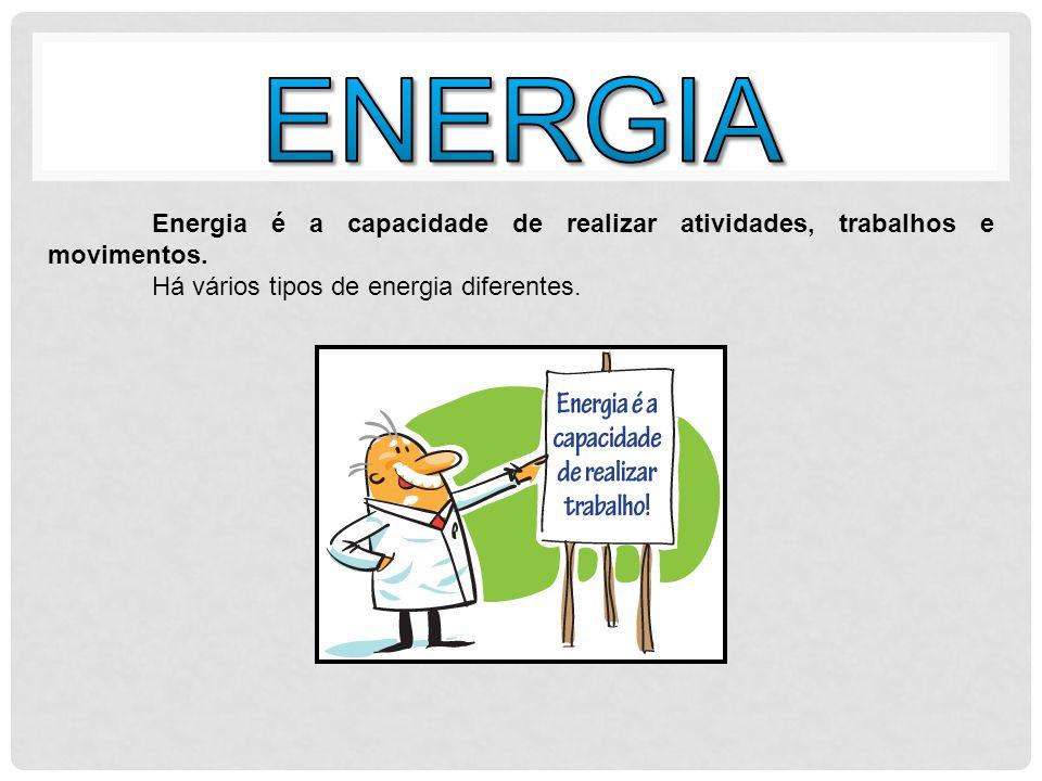 A Energia Cinética é a energia que está relacionada com o estado de movimento de um corpo.