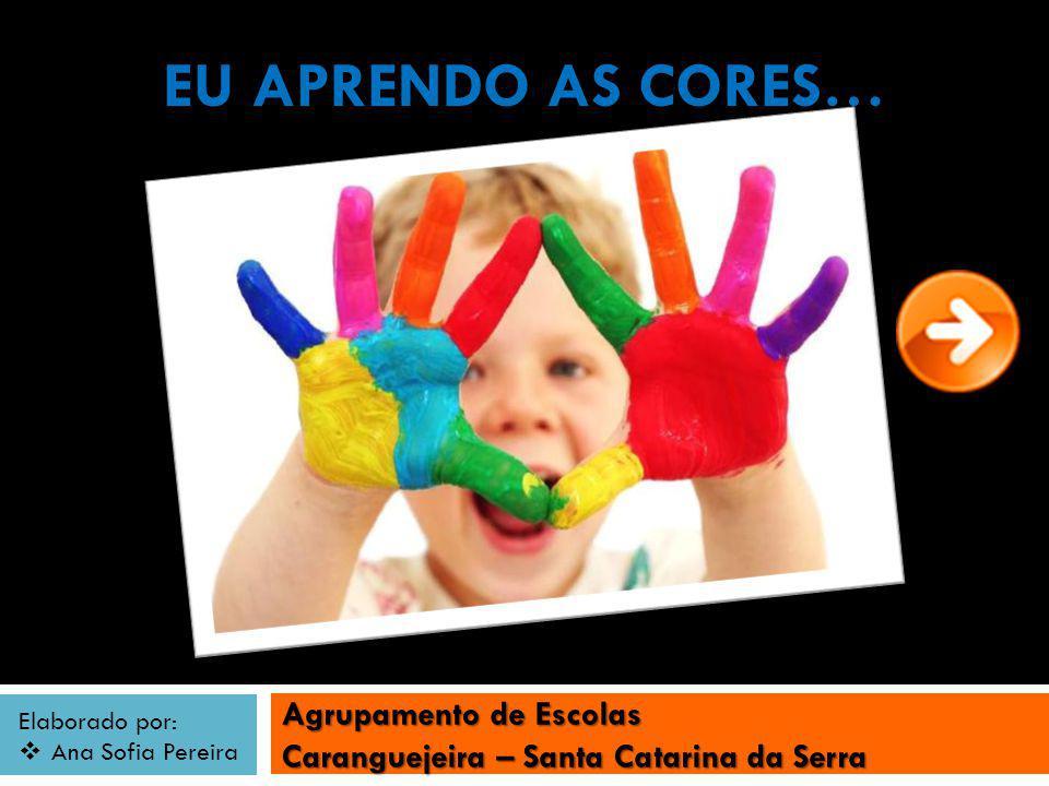 Agrupamento de Escolas Caranguejeira – Santa Catarina da Serra Elaborado por: Ana Sofia Pereira EU APRENDO AS CORES…
