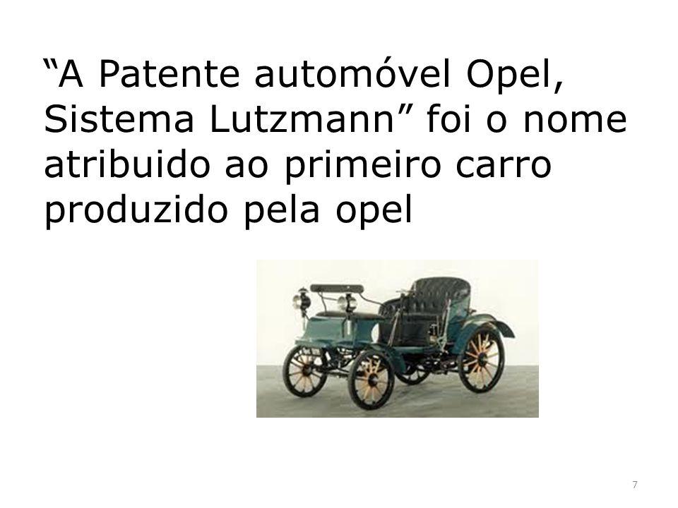 O carro mais recente da Opel é o OPEL AMPERA que ganhou o prémio «carro do ano de 2012» 8