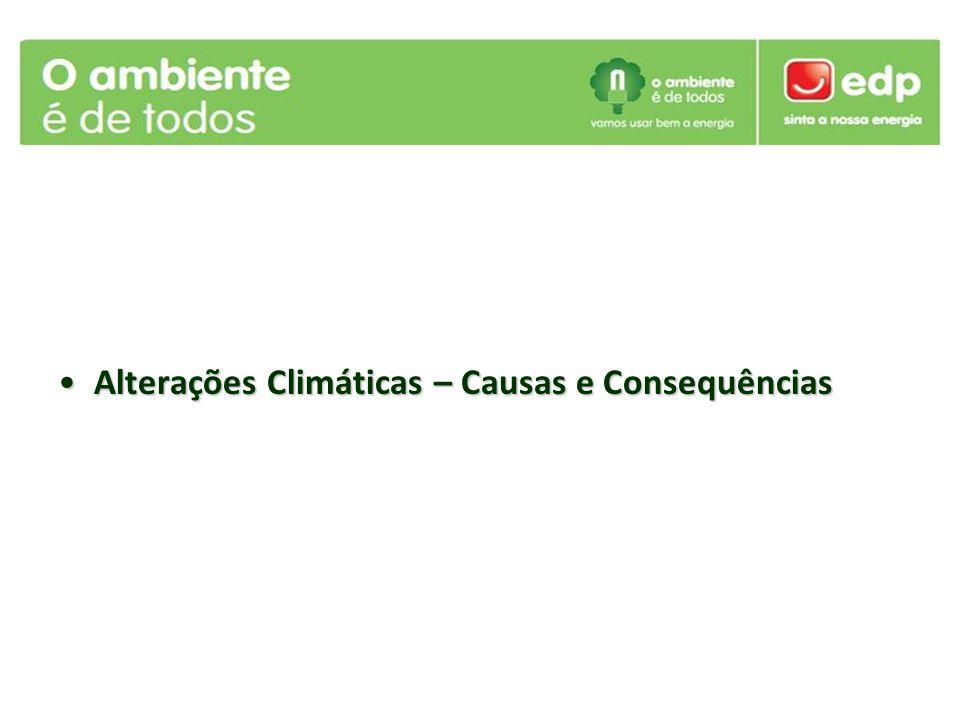 Alterações Climáticas – Causas e ConsequênciasAlterações Climáticas – Causas e Consequências