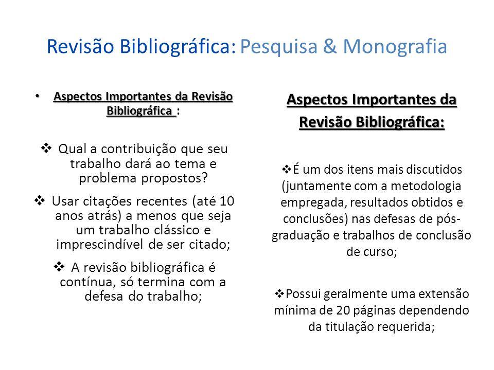Normas para Citações: Pesquisa & Monografia Citação Citação: Segundo a Associação Brasileira de Normas Técnicas (2002, p.1), citação é a menção no texto de uma informação extraída de outra fonte; Pode ser uma citação direta, citação indireta ou citação de citação, de fonte escrita ou oral; A NBR 10520:2002 define os parâmetros para a apresentação de citações em documentos; Tipos de Citação: Citação Direta: É quando transcreve- se o texto utilizando as próprias palavras do autor.