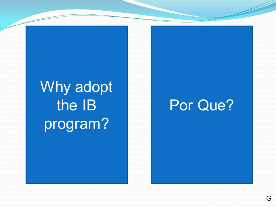 First and foremost, the International Baccalaureate degree is predicated on rigorous, challenging academic courses.