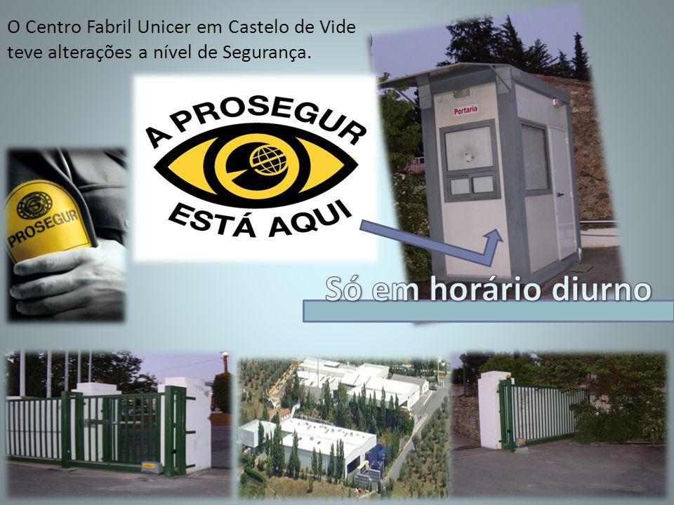 O Centro Fabril Unicer em Castelo de Vide teve alterações a nível de Segurança.