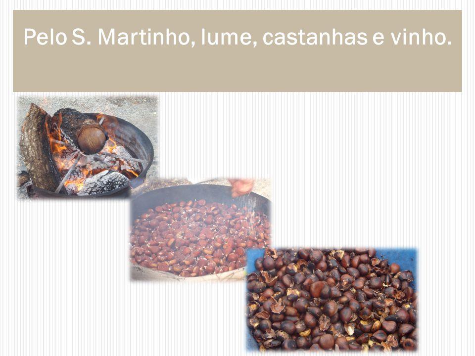 Pelo S. Martinho, lume, castanhas e vinho.
