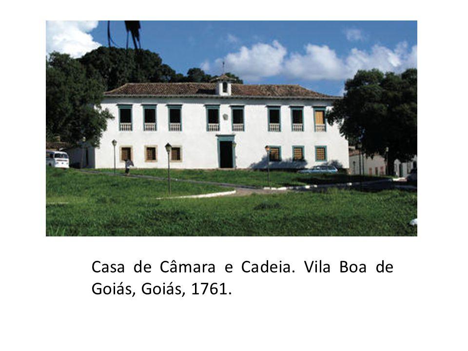 Casa de Câmara e Cadeia, Santos-SP, 1839.