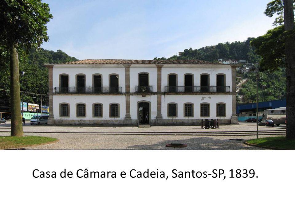 Casa de Câmara e Cadeia, Ouro Preto- MG, 1784.
