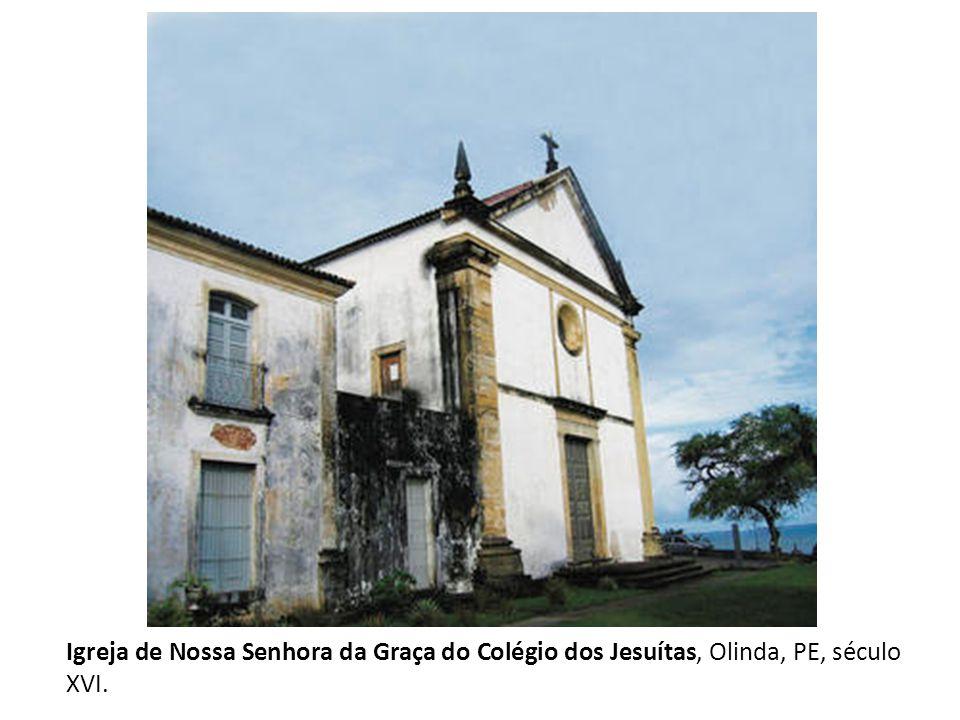 Na missão jesuítca de São Miguel, no Rio Grande do Sul, estão as ruínas da igreja (1735- 47)projetada pelo jesuíta italiano João Batista Primoli, que teve como modelo a Igreja de Jesus em Roma.