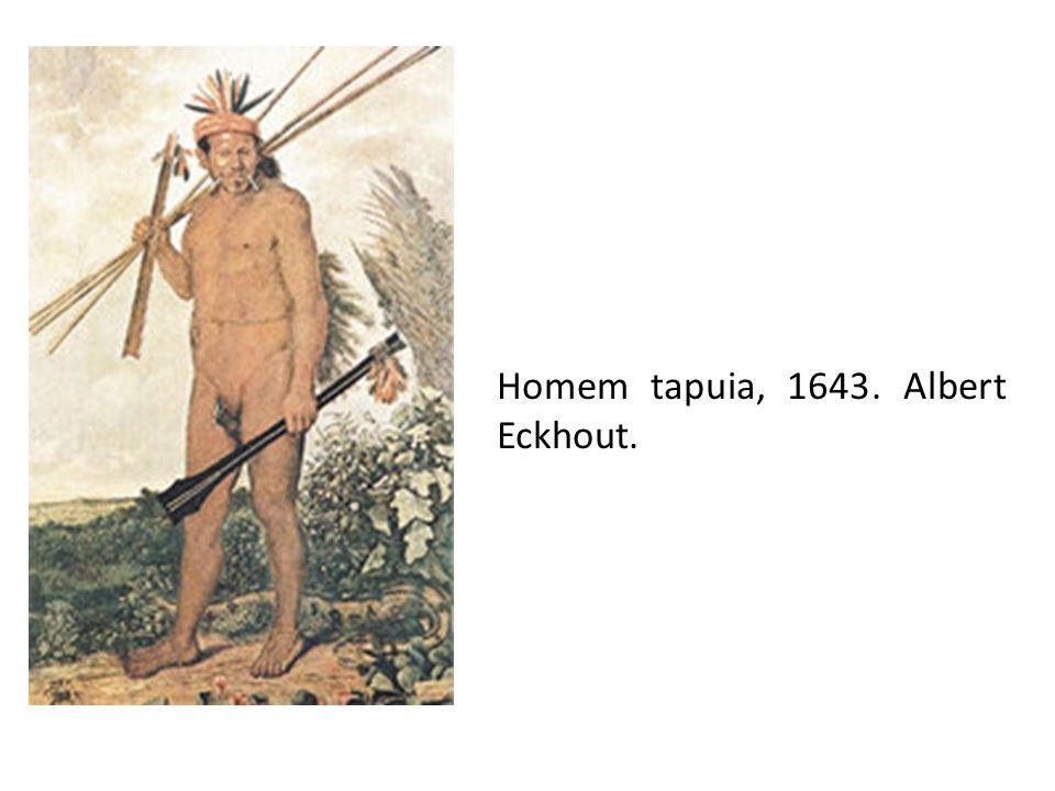 Homem tapuia, 1643. Albert Eckhout.