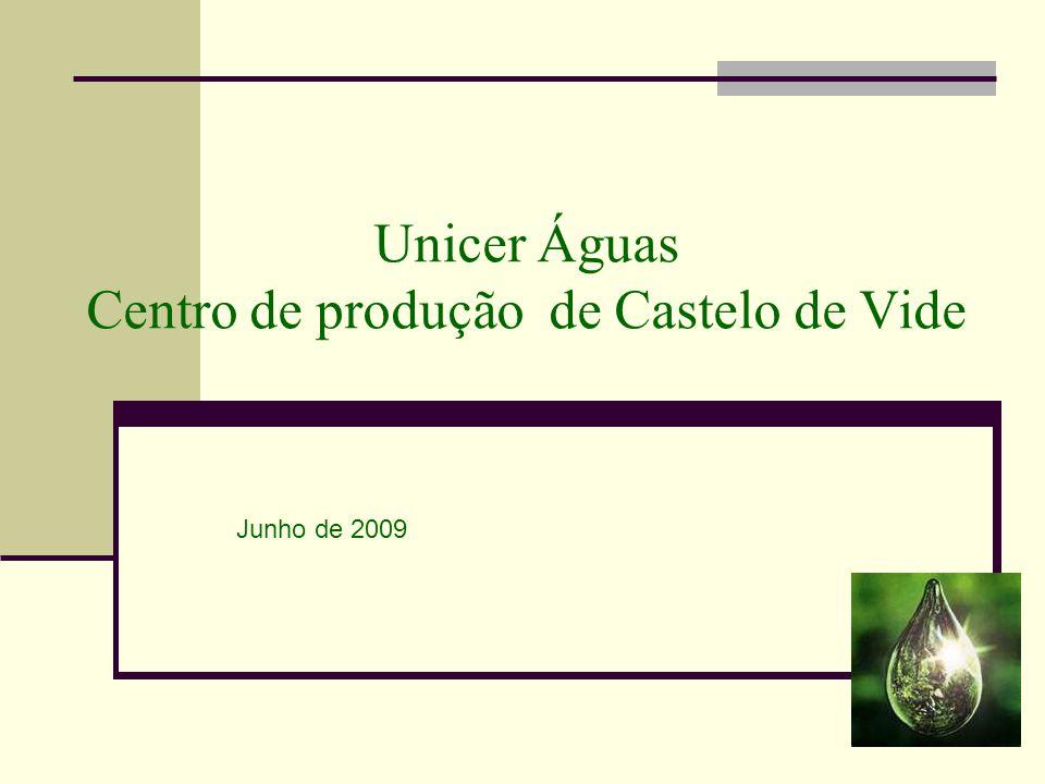 Unicer Águas Centro de produção de Castelo de Vide Junho de 2009