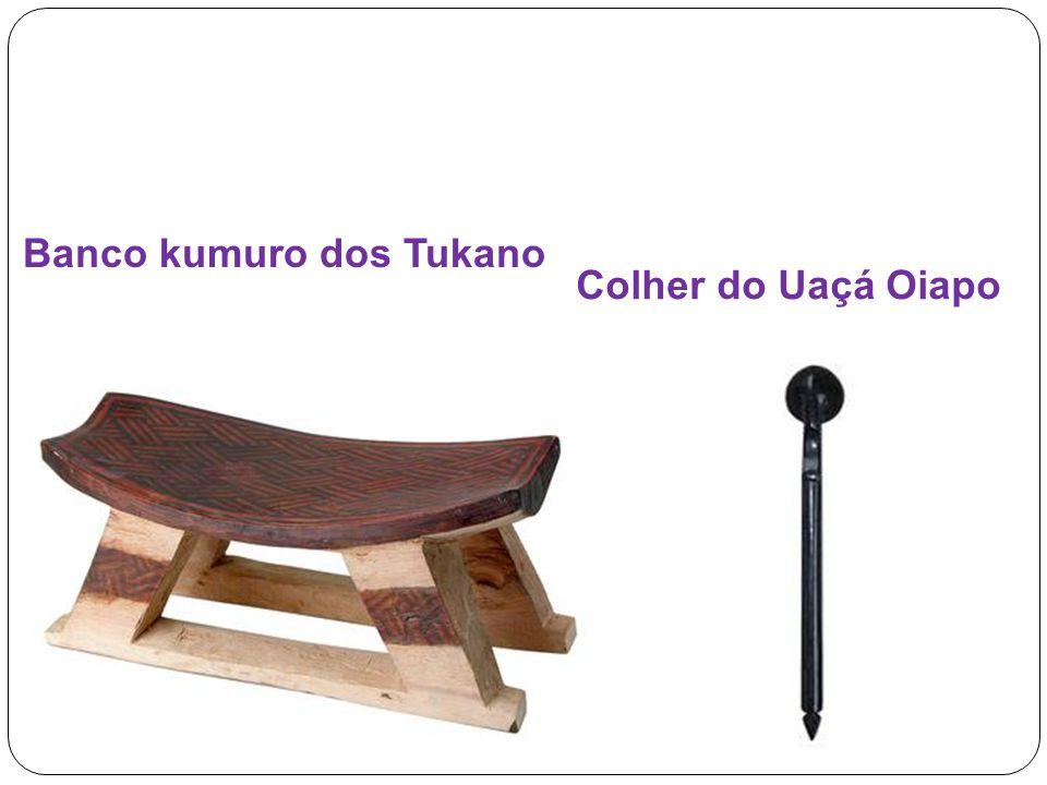 Colher do Uaçá Oiapo Banco kumuro dos Tukano