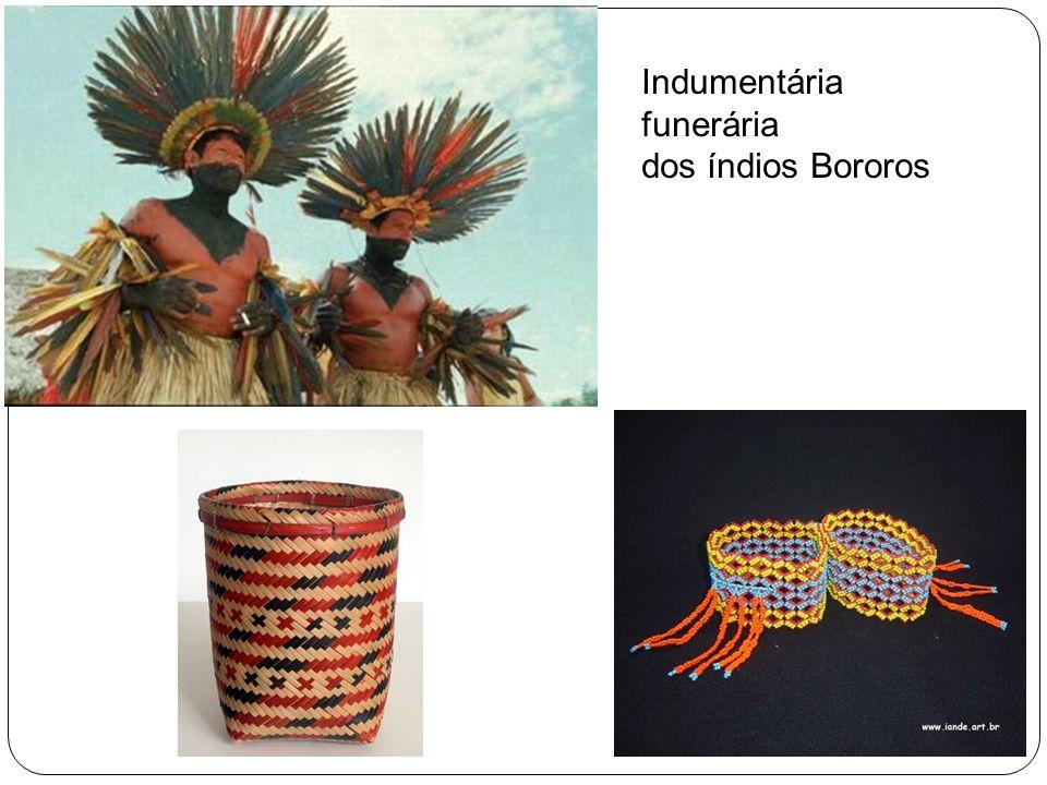 Indumentária funerária dos índios Bororos