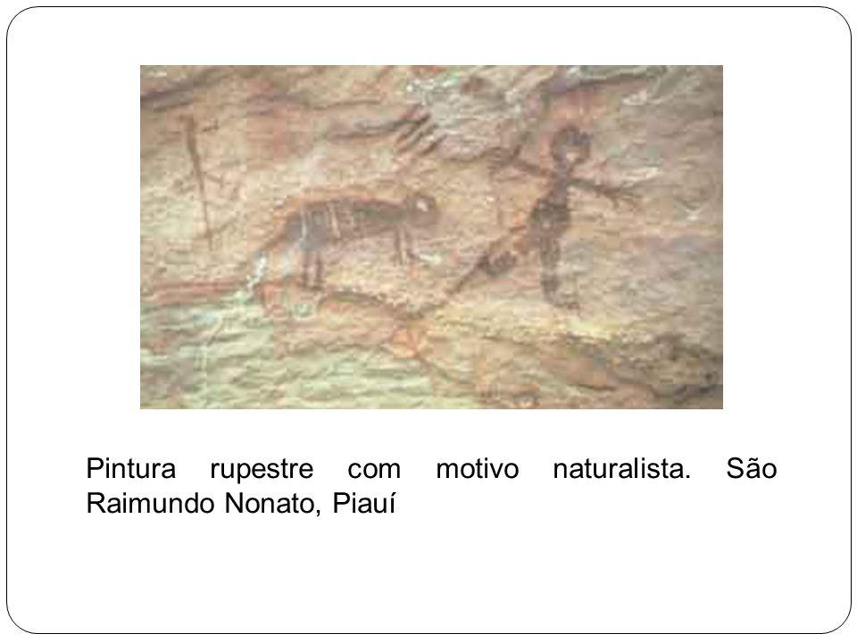 Os pesquisadores classificaram essas pinturas e gravuras em dois grandes grupos: obras com motivos naturalistas e obras com motivos geométricos.