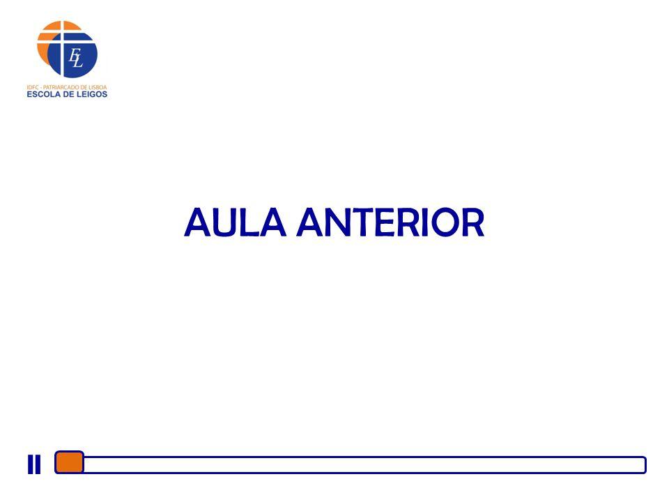 AULA ANTERIOR