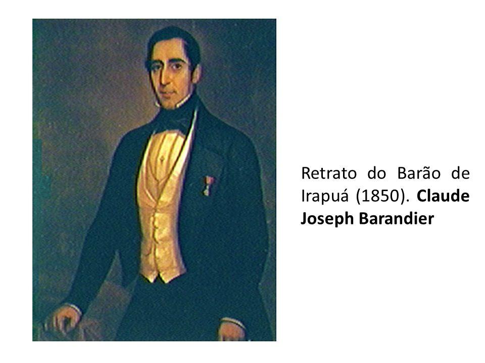 Retrato do Barão de Irapuá (1850). Claude Joseph Barandier