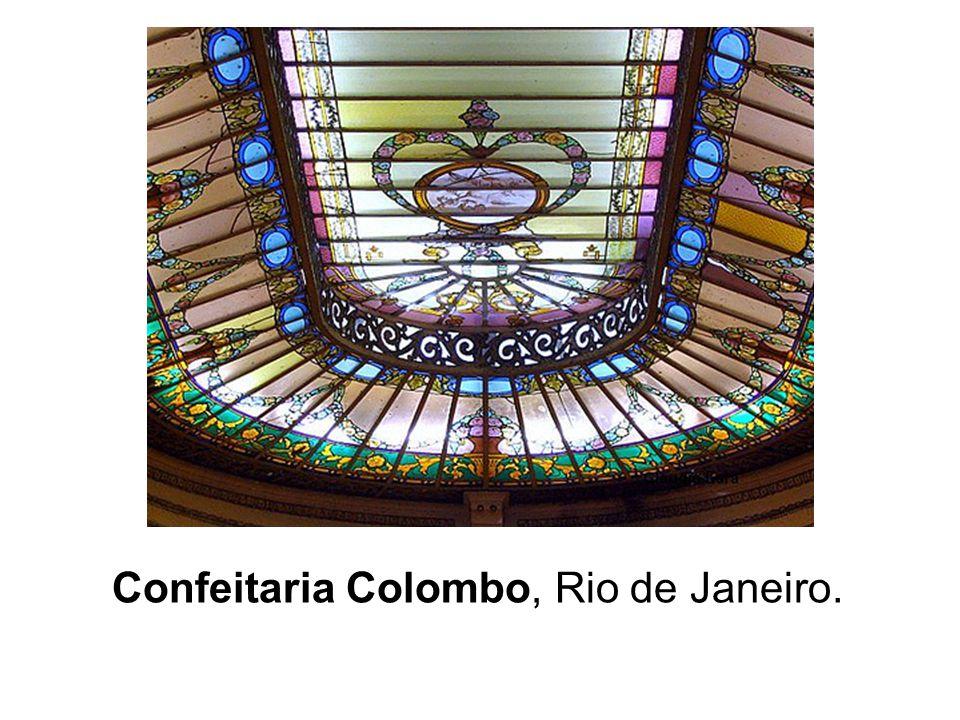 Confeitaria Colombo, Rio de Janeiro.