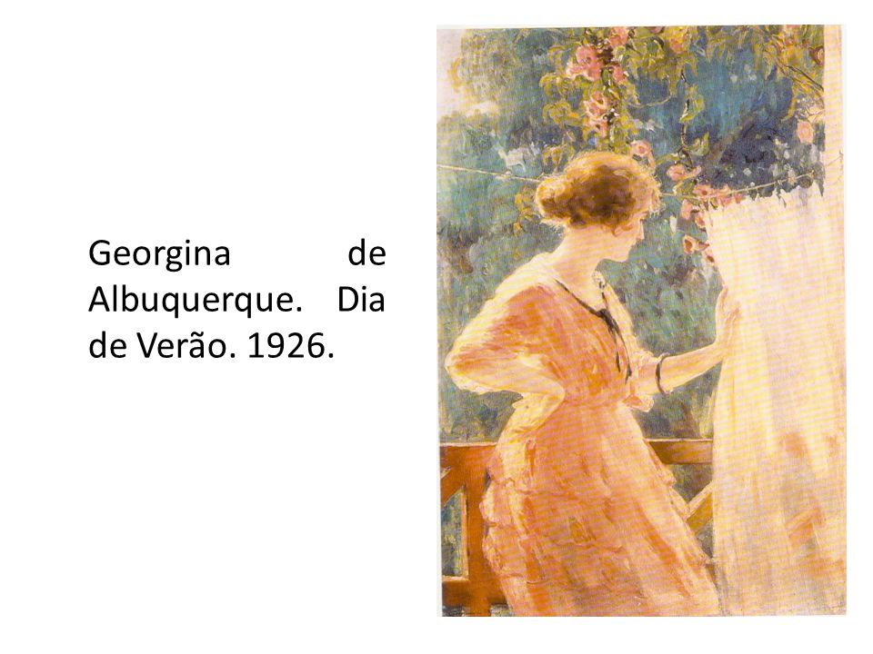 Georgina de Albuquerque. Dia de Verão. 1926.
