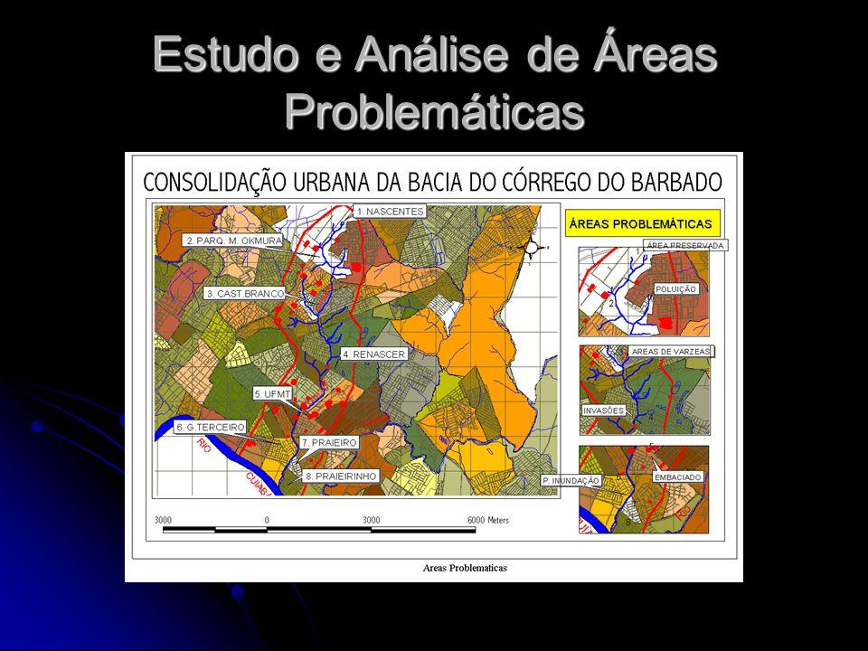 Estudo e Análise de Áreas Problemáticas
