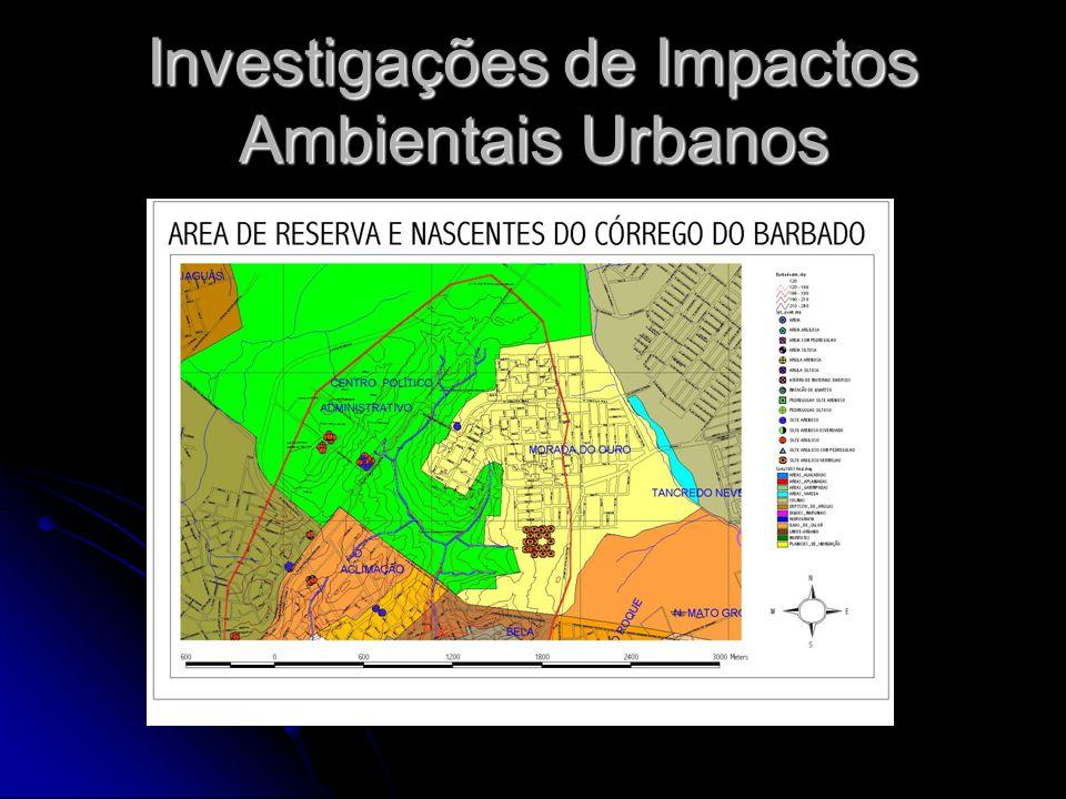 Investigações de Impactos Ambientais Urbanos