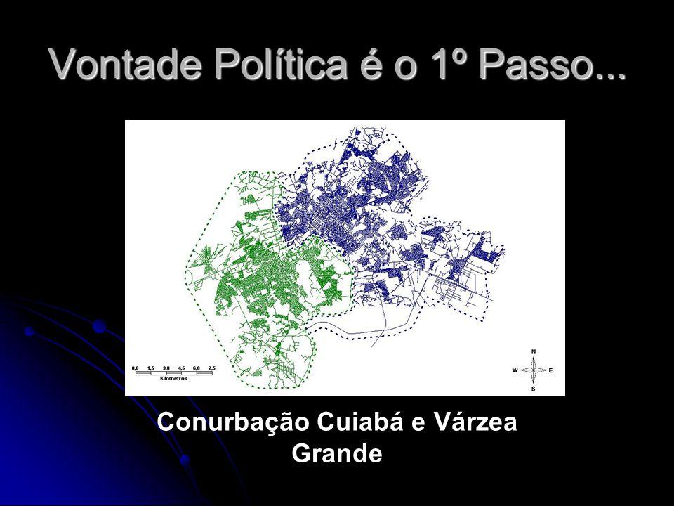Vontade Política é o 1º Passo... Conurbação Cuiabá e Várzea Grande
