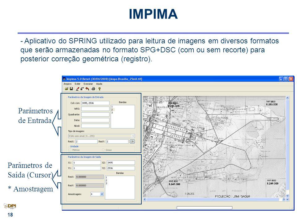 19 IMPIMA - Como calcular a resolução (em metros) de um mapa ou imagem digitalizada ?
