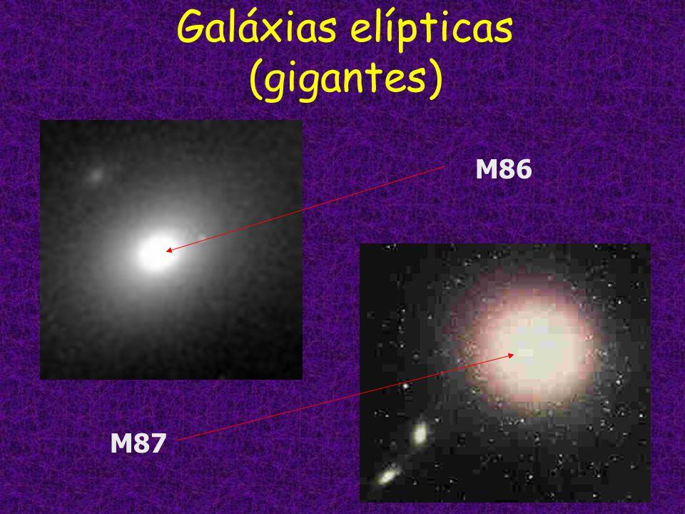 Galáxias elípticas (gigantes) M86 M87