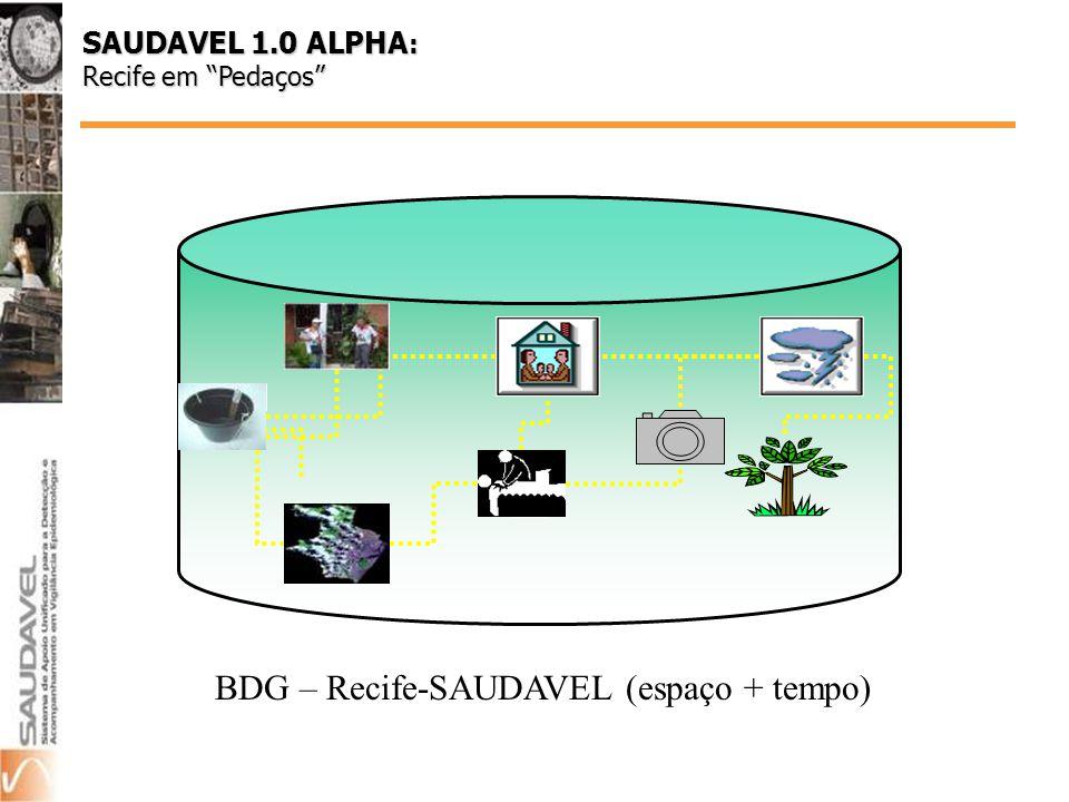SAUDAVEL 1.0 ALPHA : Recife em Pedaços BDG – Recife-SAUDAVEL (espaço + tempo)