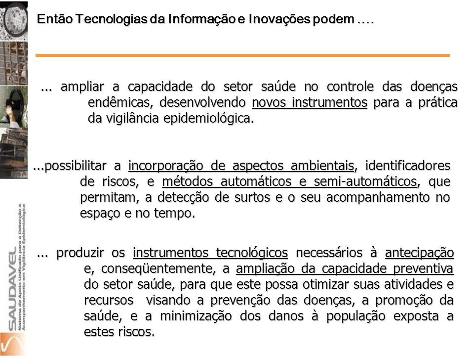 O registro de casos de dengue nos últimos anos, no Brasil, caracteriza a repetição anual de ocorrência de surtos epidêmicos, sempre no período janeiro a maio.