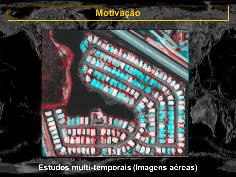 Motivação Criação de imagens estéreo (LYNX-SAR)