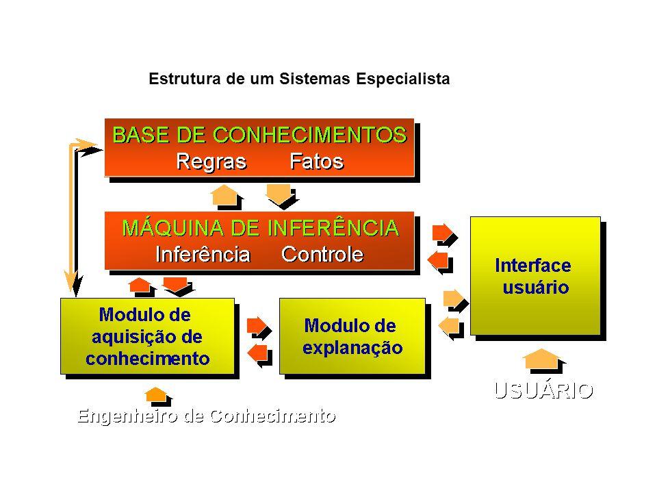 Estrutura de um Sistemas Especialista