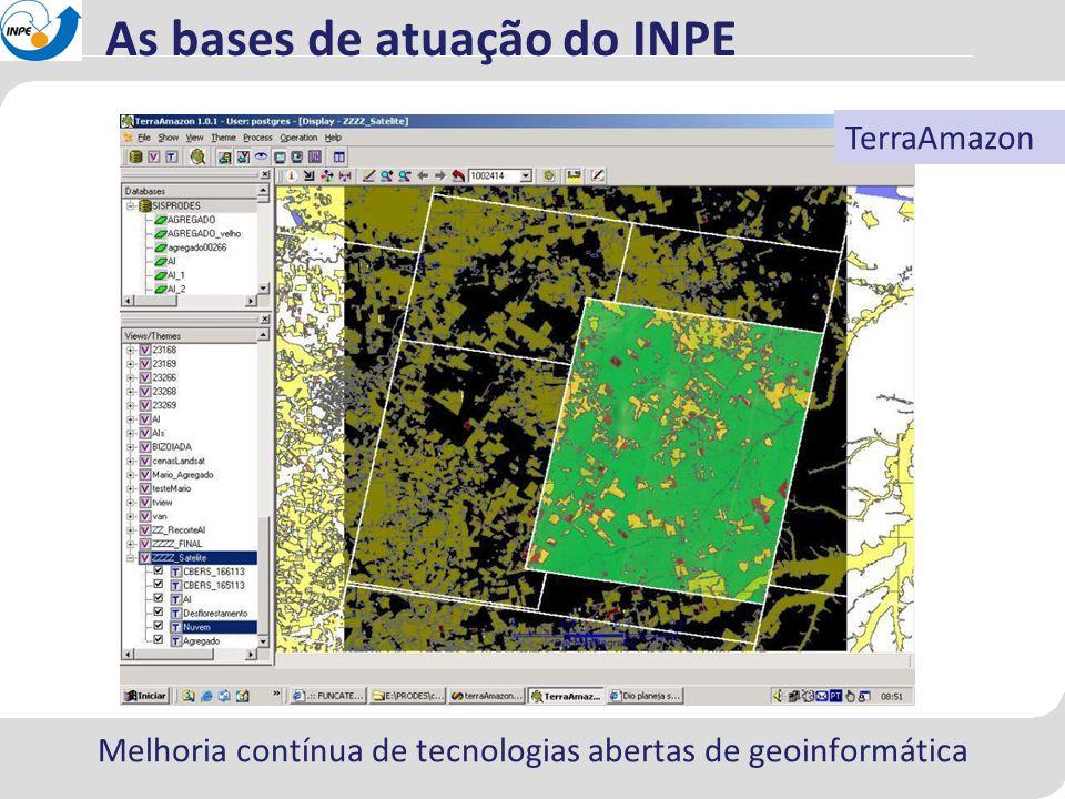 Como descrever os processos de desmatamento a partir dos padrões históricos.