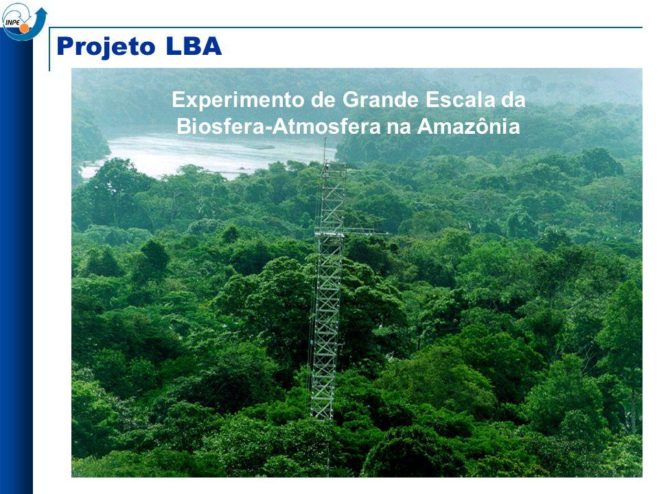 Projeto LBA Experimento de Grande Escala da Biosfera-Atmosfera na Amazônia