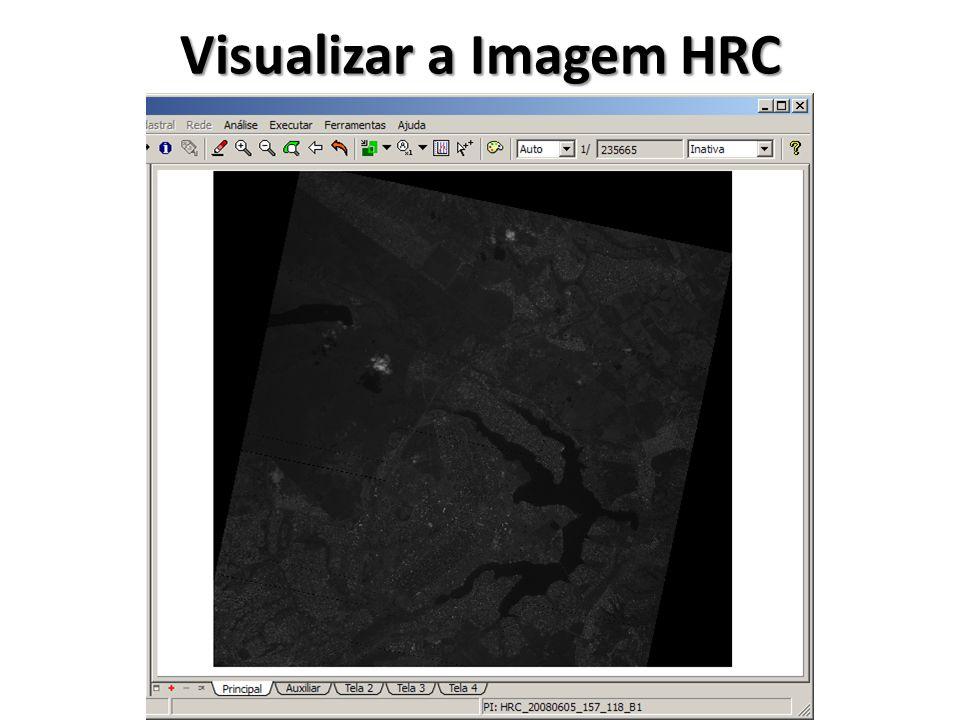 Visualizar a Imagem HRC Mosaicada