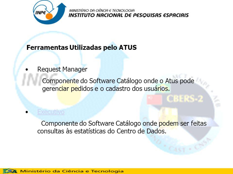 Request Manager Componente do Software Catálogo onde o Atus pode gerenciar pedidos e o cadastro dos usuários.