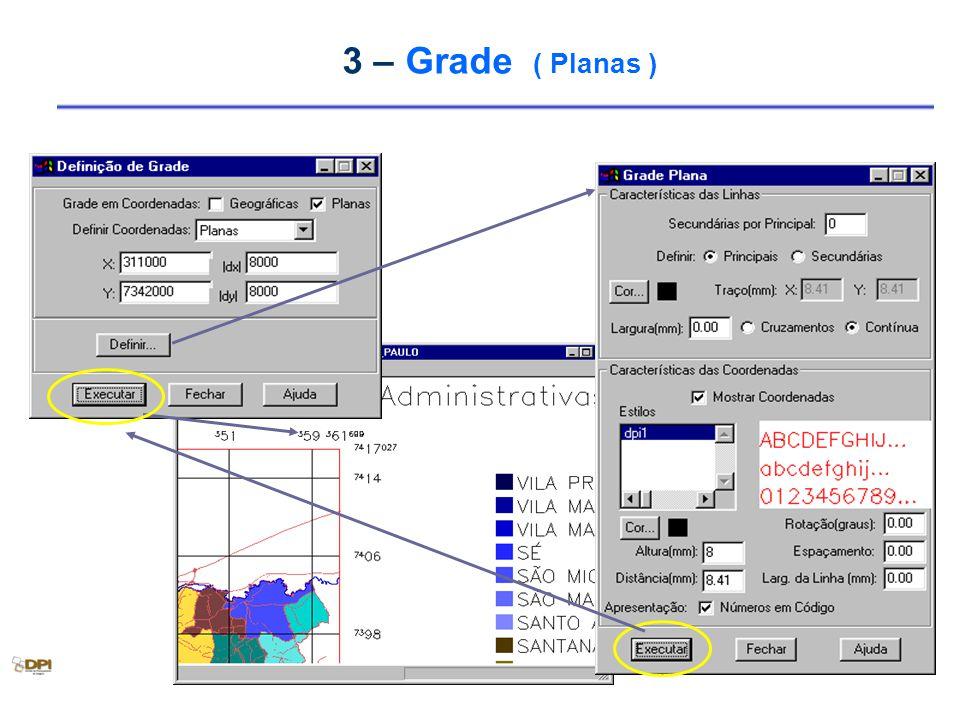 3 – Grade ( Planas )