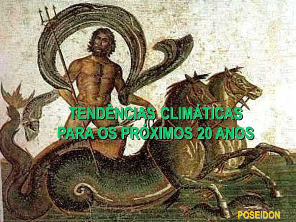 POSEIDON TENDÊNCIAS CLIMÁTICAS PARA OS PRÓXIMOS 20 ANOS