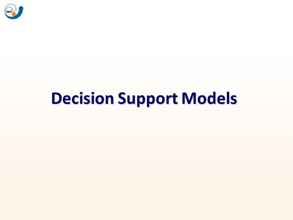 Decision Support Models