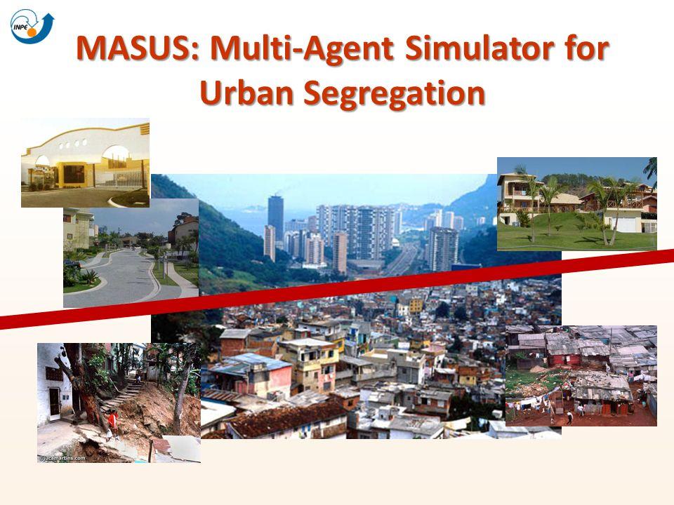 MASUS: Multi-Agent Simulator for Urban Segregation